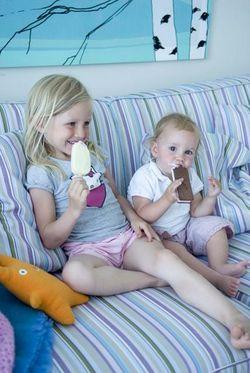 Prisma Stripe Eggshell Blue Children