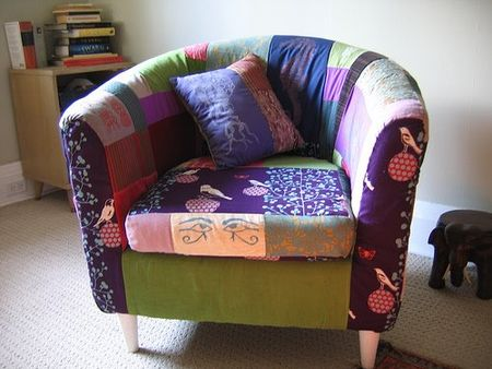 Patchwork armchair hack