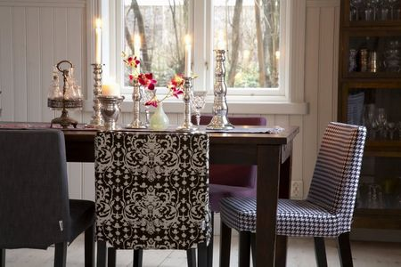 Mixed dining room chairs