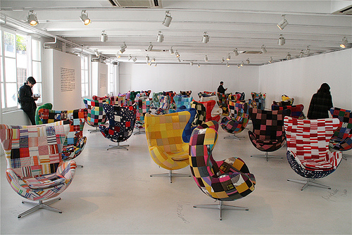 Patchwork Egg Chair