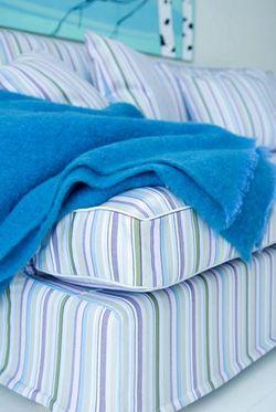 Prisma Stripe Eggshell Blue