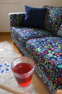Sofa bed herbarium