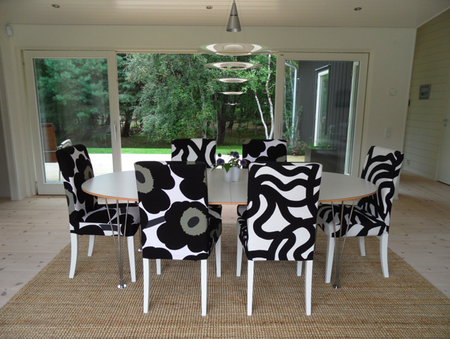 Recover Dining Room Chairs. When Youu0027Re Working With A Stripe