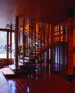 Staircase Villa Mairea, Finland