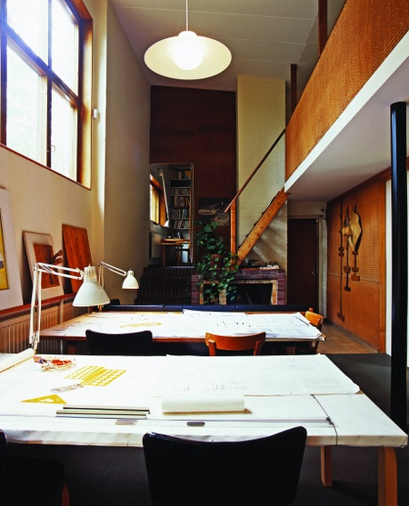 The Aalto House, Studio