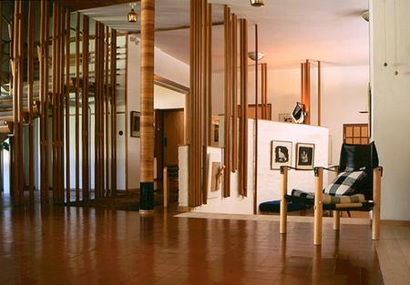 Staircase, Villa Mairea