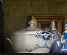 Blue Fluted Mega tureen