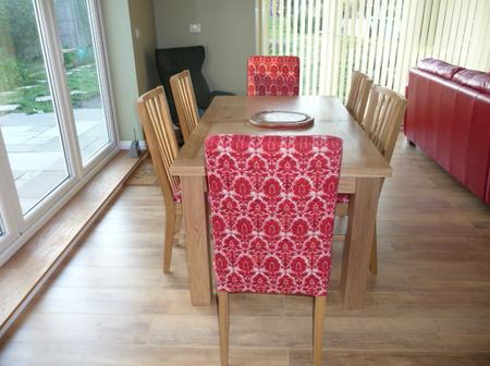 Karen's Urban Tapestry dining