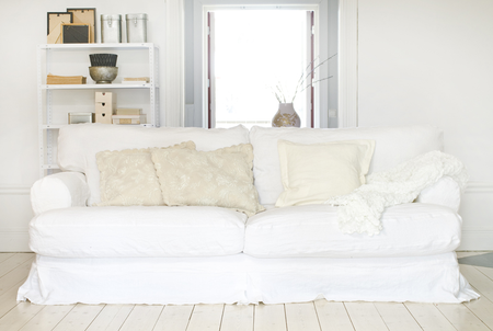 Ekeskog in Rosendal Pure Washed Linen Absolute White