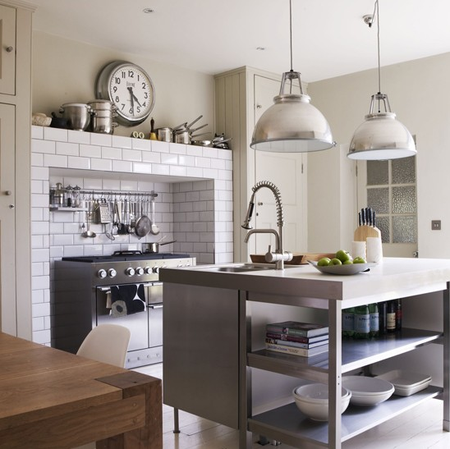 Industrial style kitchen c:o Livingetc