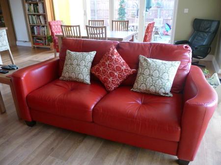 Karen's Urban Tapestry cushions