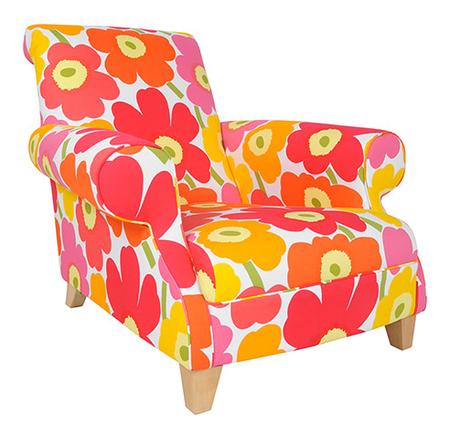 Norton armchair in Marimekko Unikko £1800
