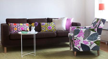 Karlanda sofa in Mocha Brown Belgian linen