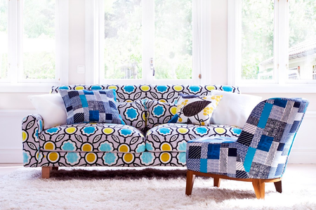 Nikkala in Sagrada Aqua by Designers Guild a Bemz