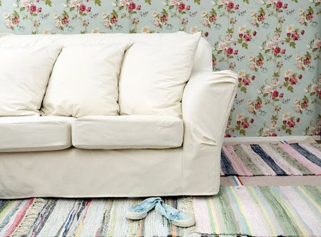Tomelilla 3-seater in an Unbleached Bemz Basiq slipcover