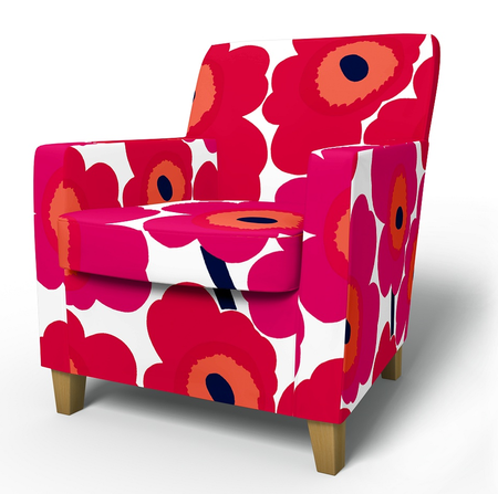 Karlstad armchair cover from Bemz £279