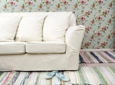 Tomelilla sofa in Unbleached Basiq Cotton