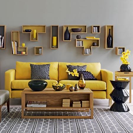 Karlanda in Sun Yellow from Ideal Home magazine