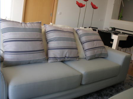 Kramfors sofa in Silver Grey Panama Cotton