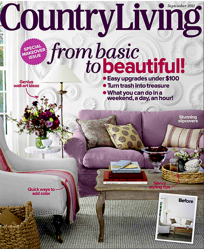 Ektorp Loose Fit Country cover in Rosendal Pure Washed Linen Lavender
