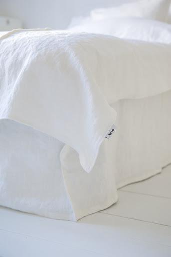 White bedding from Bemz
