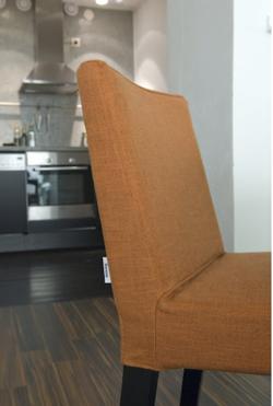 Bemz cover for Henrik chair in Burnt Orange Tegnér Melange