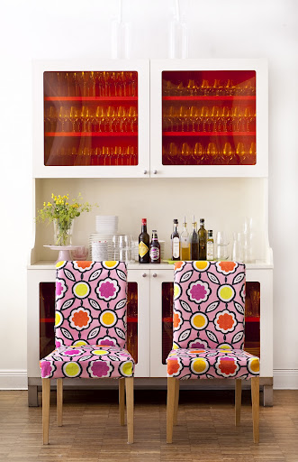Bemz cover for Henriksdal chair in Blossom Sagrada by Designers Guild for the Bemz Designer Collection