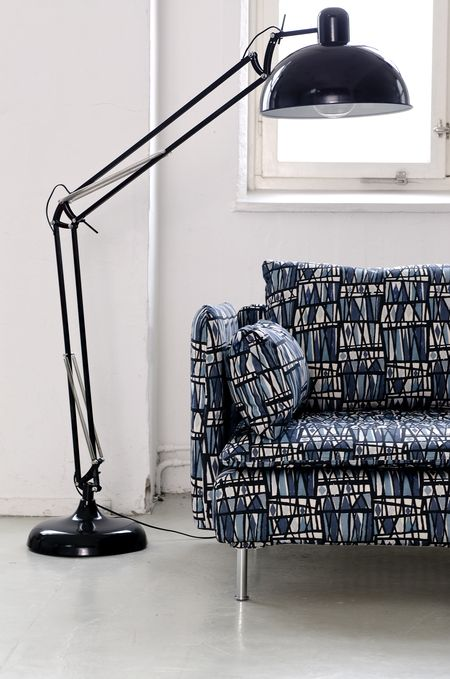 Bemz cover for Söderhamn sofa, fabric: Harlequin, design Annika Malmström, from Bemz