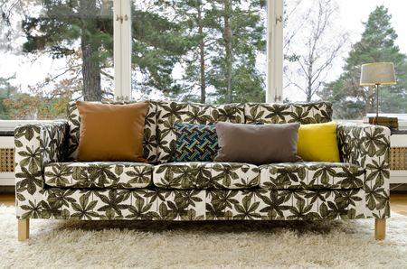 Bemz cover for Karlanda sofa, in Hästkastanj, design Viola Gråsten, by Bemz