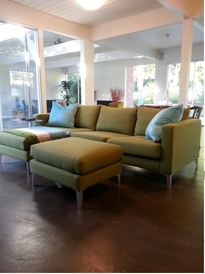 Bamboo Green Testimonial : karlstad chaise cover - Sectionals, Sofas & Couches