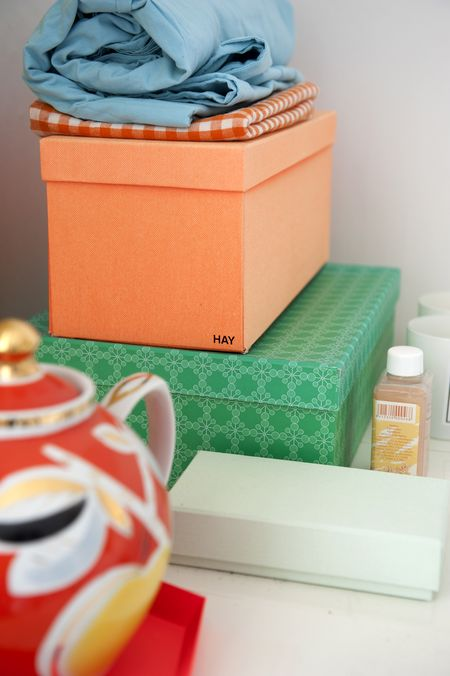 Pretty storage boxes from Hay