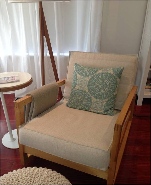 Revamped lillberg rocks in melbourne it 39 s a cover up - Fauteuil ikea occasion ...