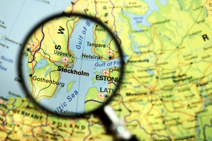 Stockholm map via Intelligent Exchange