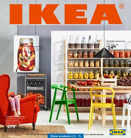 Ikea catalogue cover 2014
