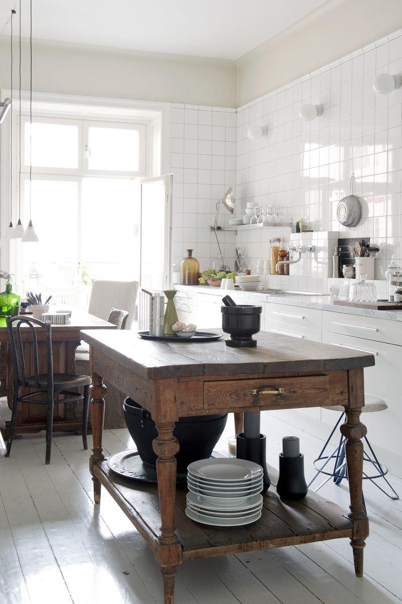 Винтаж на кухне своими руками