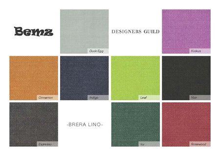 New Brera Lino fabrics
