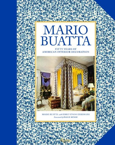 Mario Buatto Fifty Years of American Interior Decoration