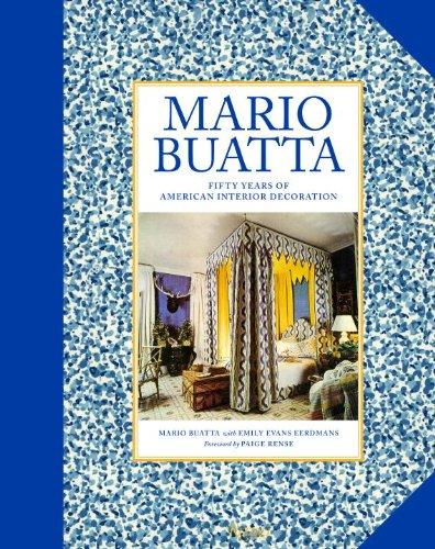 Mario Buatto Fifty Years of American Interior Decoration