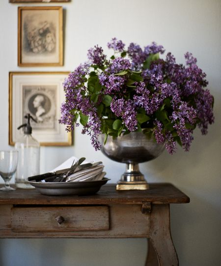 Purple flowers Sköna hem