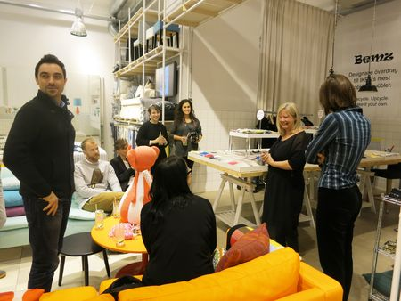Bloggers Tour in Bemz_Inspiration Store_2014