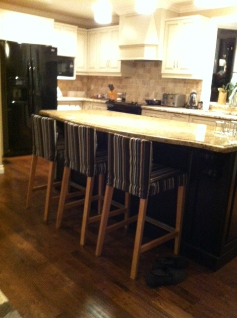 henriksdal bar stools make over in canada it s a cover up